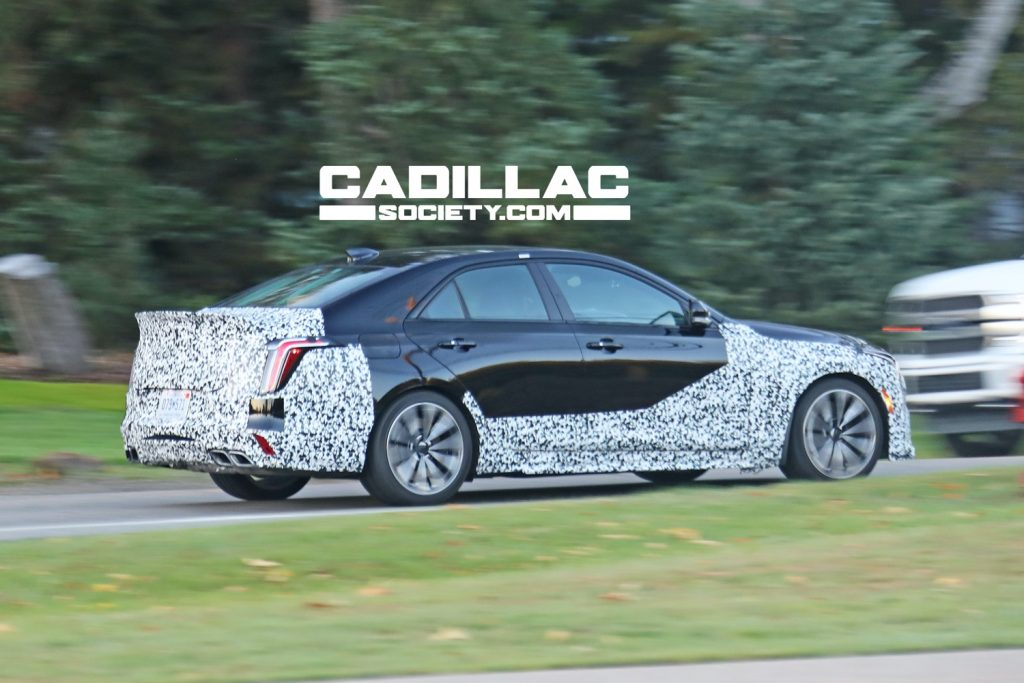 Cadillac CT4-V Blackwing prototype.