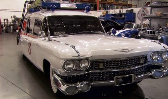 The Original 1959 Cadillac Ecto-1 Has Been Resurrected: Video