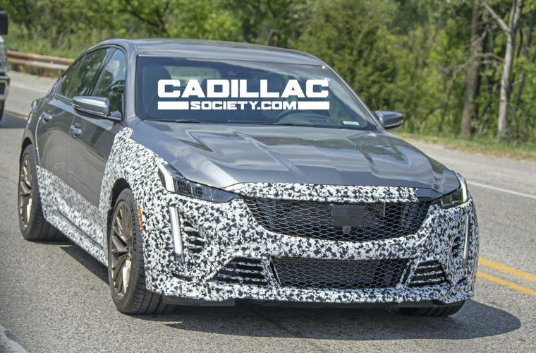 2022 Cadillac CT4-V Blackwing, CT5-V Blackwing Manual Use 3D Printing
