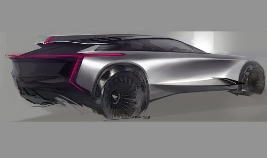 Futuristic Cadillac Crossover Concept Sketch Brings The Sci-Fi Vibes