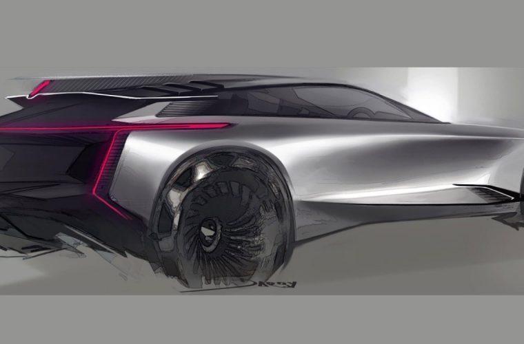 Futuristic Cadillac Crossover Concept Sketch Brings The Sci-Fi Vibes