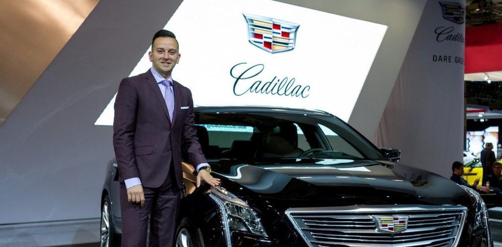 Cadillac North America VP Mahmoud Samara