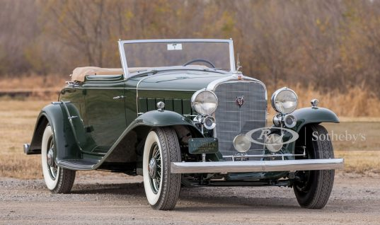 1932 Cadillac V-16 Convertible Coupe Worth $750K Heads To Auction