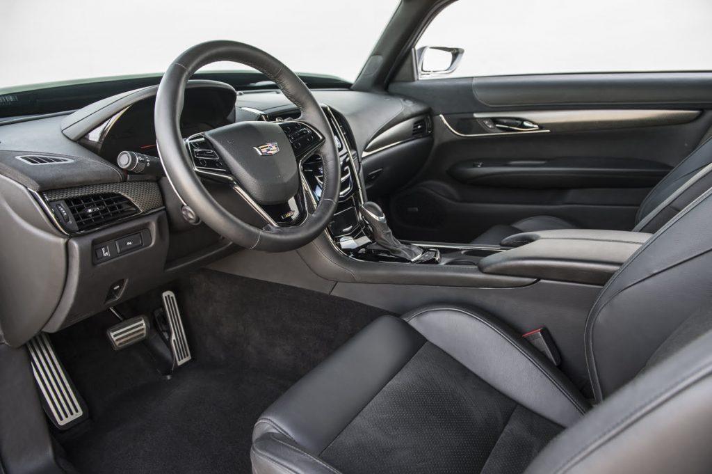 """Cadillac Series 62 Coupe """"Madam V"""" Interior."""