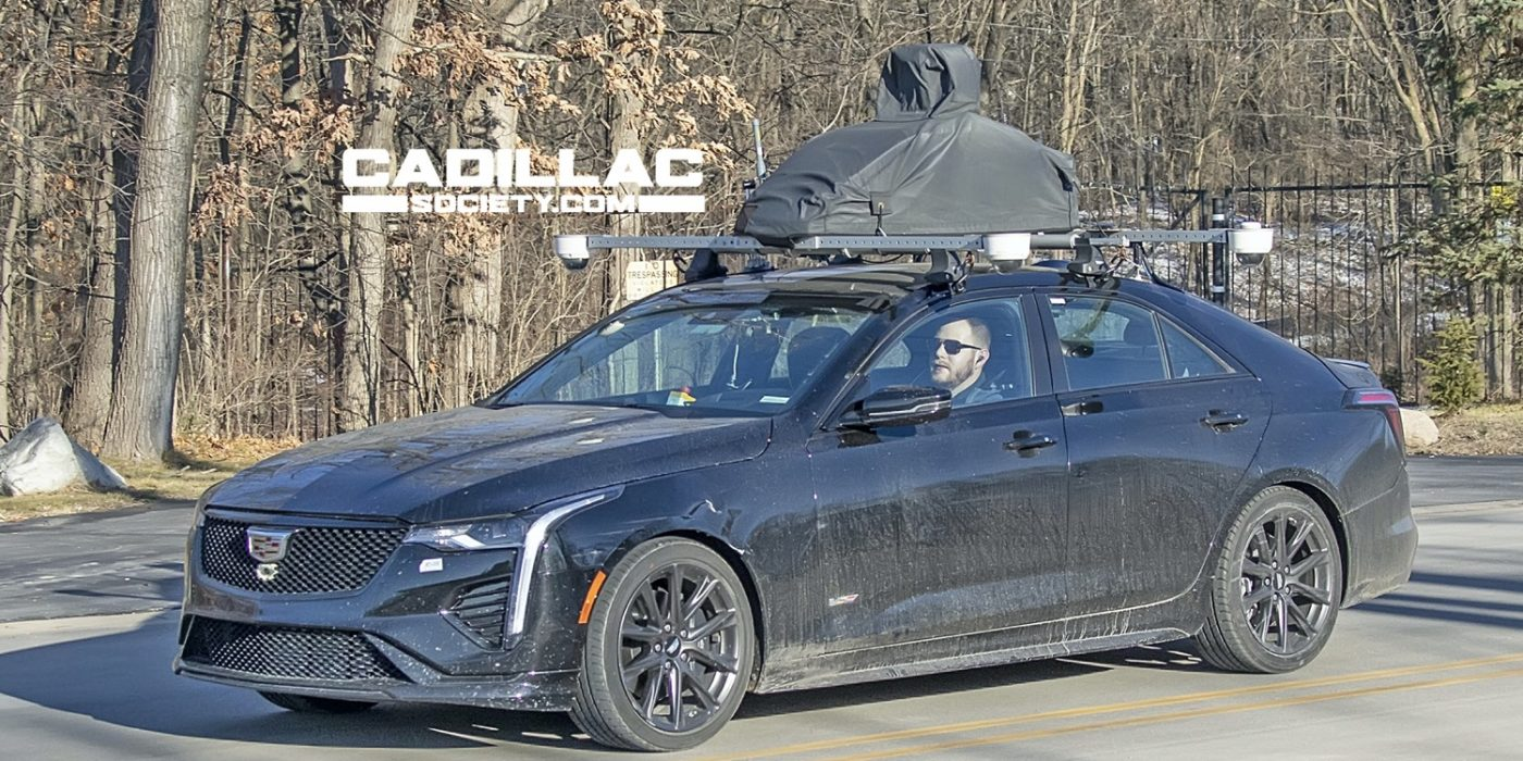 Does This Cadillac CT4-V Have Ultra Cruise Autonomous Vehicle Tech?