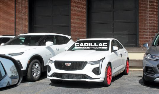 Placeholder Cadillac Wheels Are Very Red, For A Very Good Reason