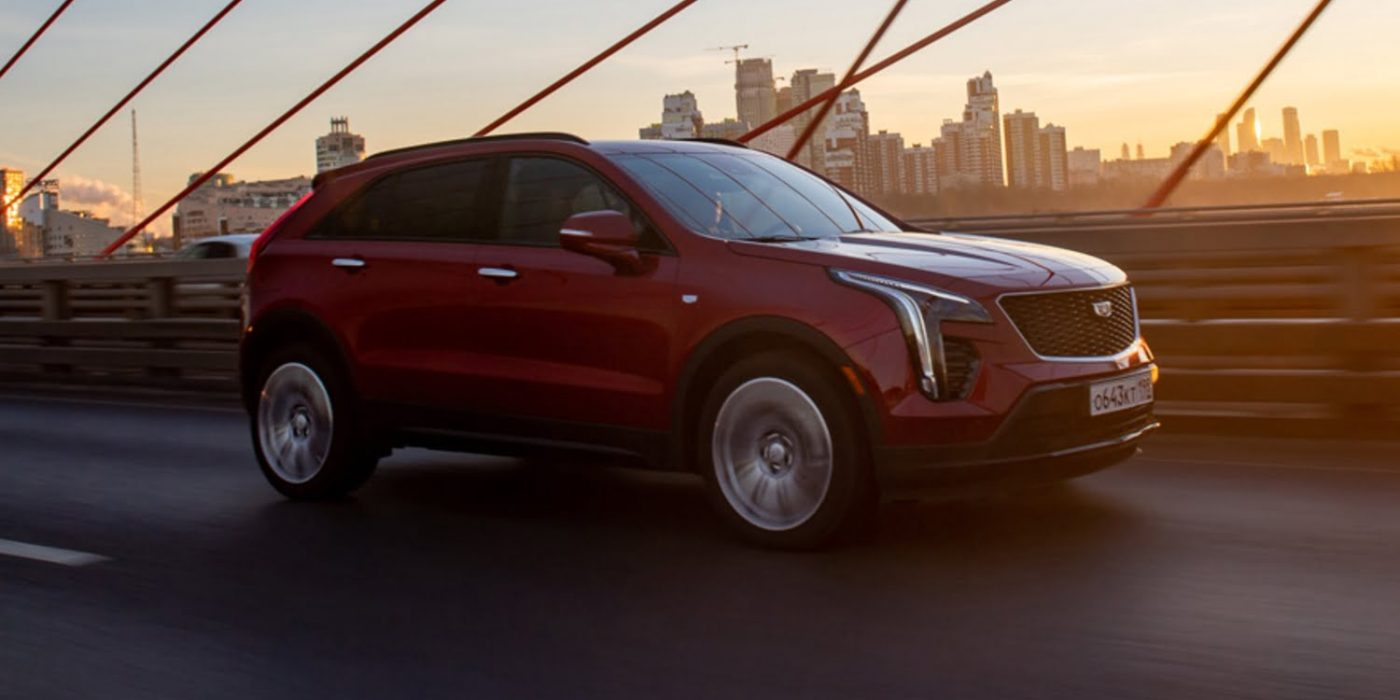 Cadillac XT4 Officially Launches In Russia