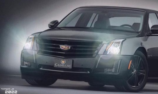 2022 Cadillac DTS Sport Black Edition Rendered With Modern Style