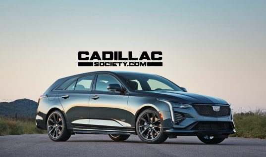 Cadillac CT4-V Wagon Rendered With SUV-Beating Style