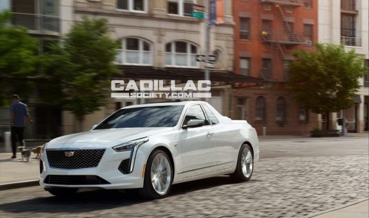Cadillac CT6 Pickup Rendered Just For Fun