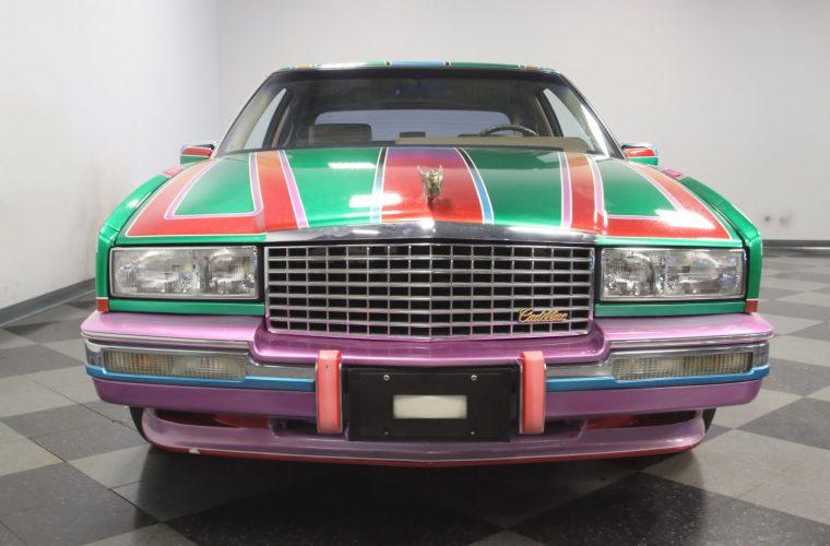 Very Colorful 1991 Cadillac Eldorado Biarritz For Sale In North Carolina