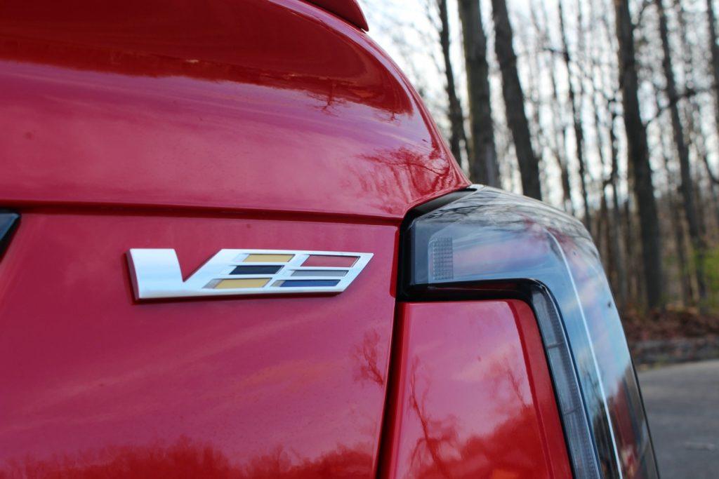 Cadillac CT5-V Rear V Badge