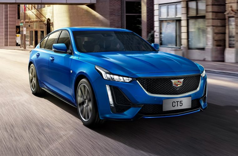 2021 Cadillac CT5 Arrives In China With Various Tech Upgrades