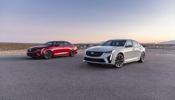 Relive The Reveal Of The 2022 Cadillac Blackwing Super Sedans: Video