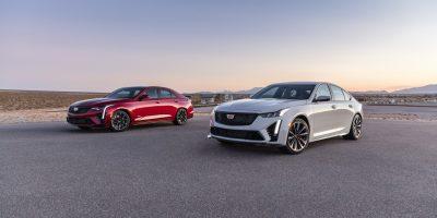 2022 Cadillac CT4-V Blackwing, CT5-V Blackwing Production Dates Revealed
