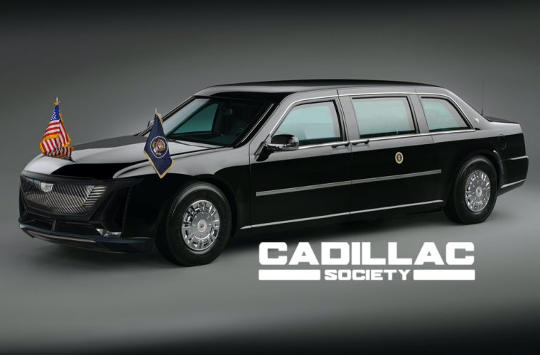 Cadillac One Presidential Limo With Lyriq Front Looks Interesting