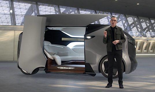 Cadillac Personal Autonomous Vehicle Concept Revealed