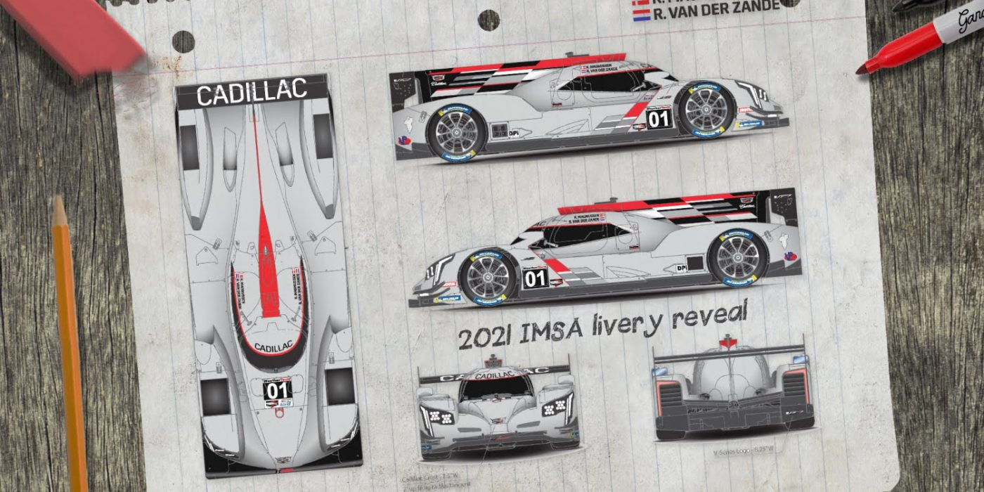 Livery Revealed For Chip Ganassi Racing Cadillac DPi-V.R Race Car