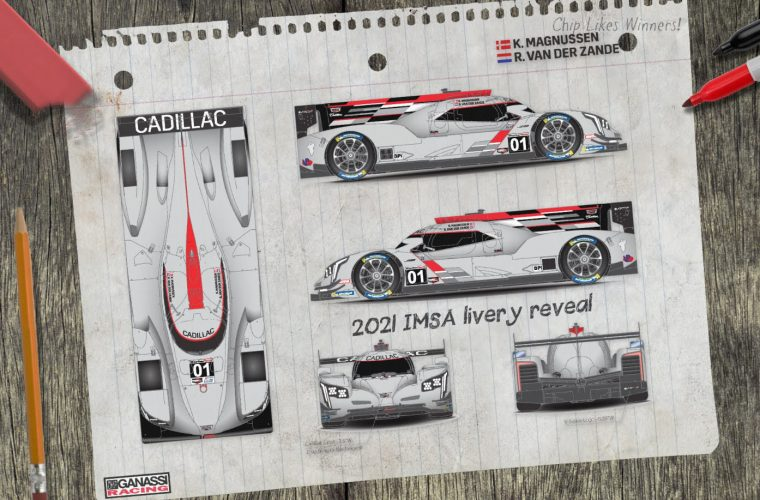 Livery Revealed For Chip Ganassi Racing Cadillac DPi-V.R Race Car