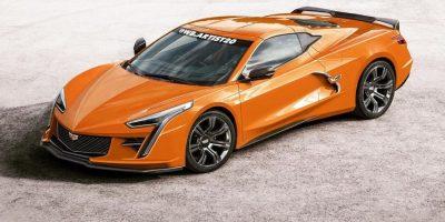 Artist Renders Chevrolet Corvette-Based Cadillac Sports Car