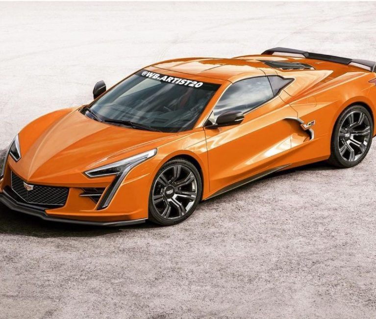 Artist Renders Chevrolet Corvette-Based Cadillac Sports Car