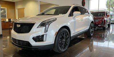 2021 Cadillac XT5 Sport Looks Slick With Optional Black Wheels: Photos