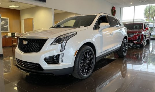 2021 Cadillac XT5 Sport Looks Slick With Optional Black Wheels: Photos