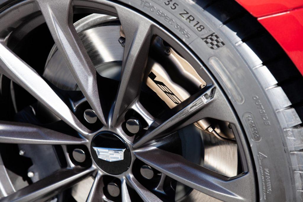 CT4-V Blackwing wheel