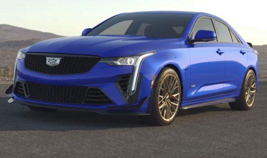 2022 Cadillac CT4-V Blackwing Looks Hot On Magnesium Wheels