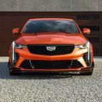 2022 Cadillac CT4-V Blackwing in Blaze Orange Metallic