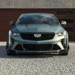 2022 Cadillac CT4-V Blackwing in Dark Emerald Frost