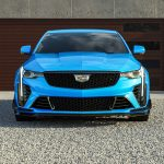 2022 Cadillac CT4-V Blackwing in Electric Blue