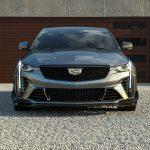 2022 Cadillac CT4-V Blackwing in Satin Steel Metallic