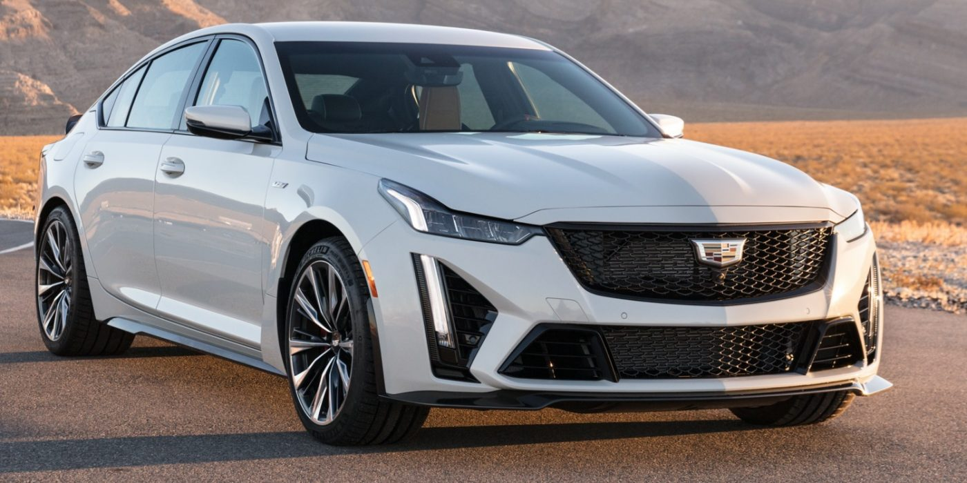 First Pictures Of 2022 Cadillac CT5-V Blackwing Engine