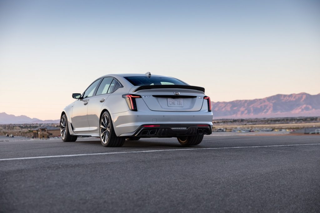 2022 Cadillac CT5-V Blackwing in Rift Metallic