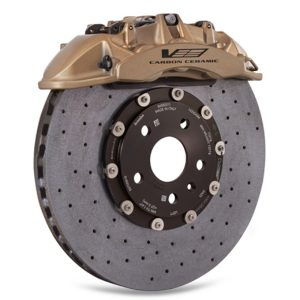 Optional ceramic brake package
