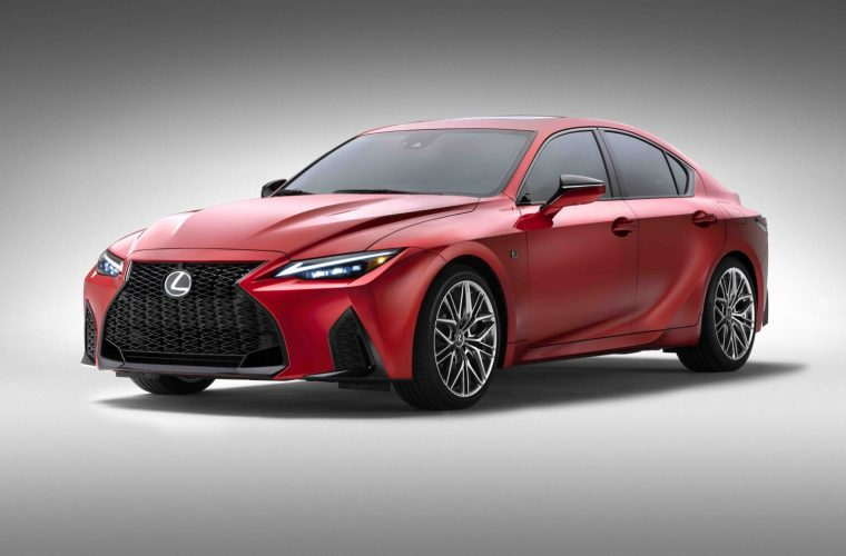 2022 Lexus IS 500 F Sport Launched As Cadillac Blackwing Rival