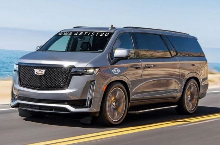Artist Imagines A Cadillac Escalade Based Luxury Van