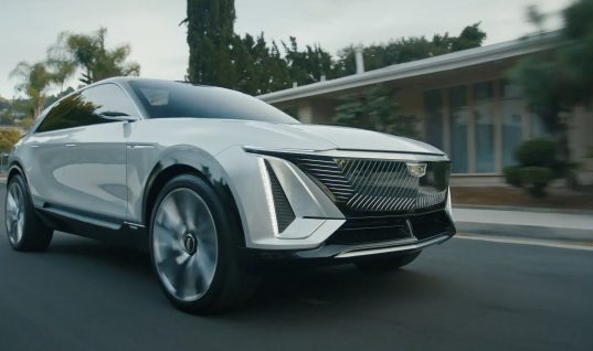 New 'Scissor Hands' Cadillac Lyriq Ad To Air During Super Bowl LV: Video