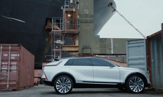 Will Ferrell Drives A Cadillac Lyriq In Super Bowl LV Ad: Video