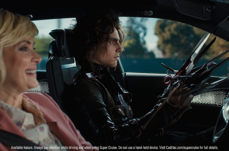 Winona Ryder, Cadillac Lyriq Star In Edgar Scissorhands Super Bowl LV Ad: Video