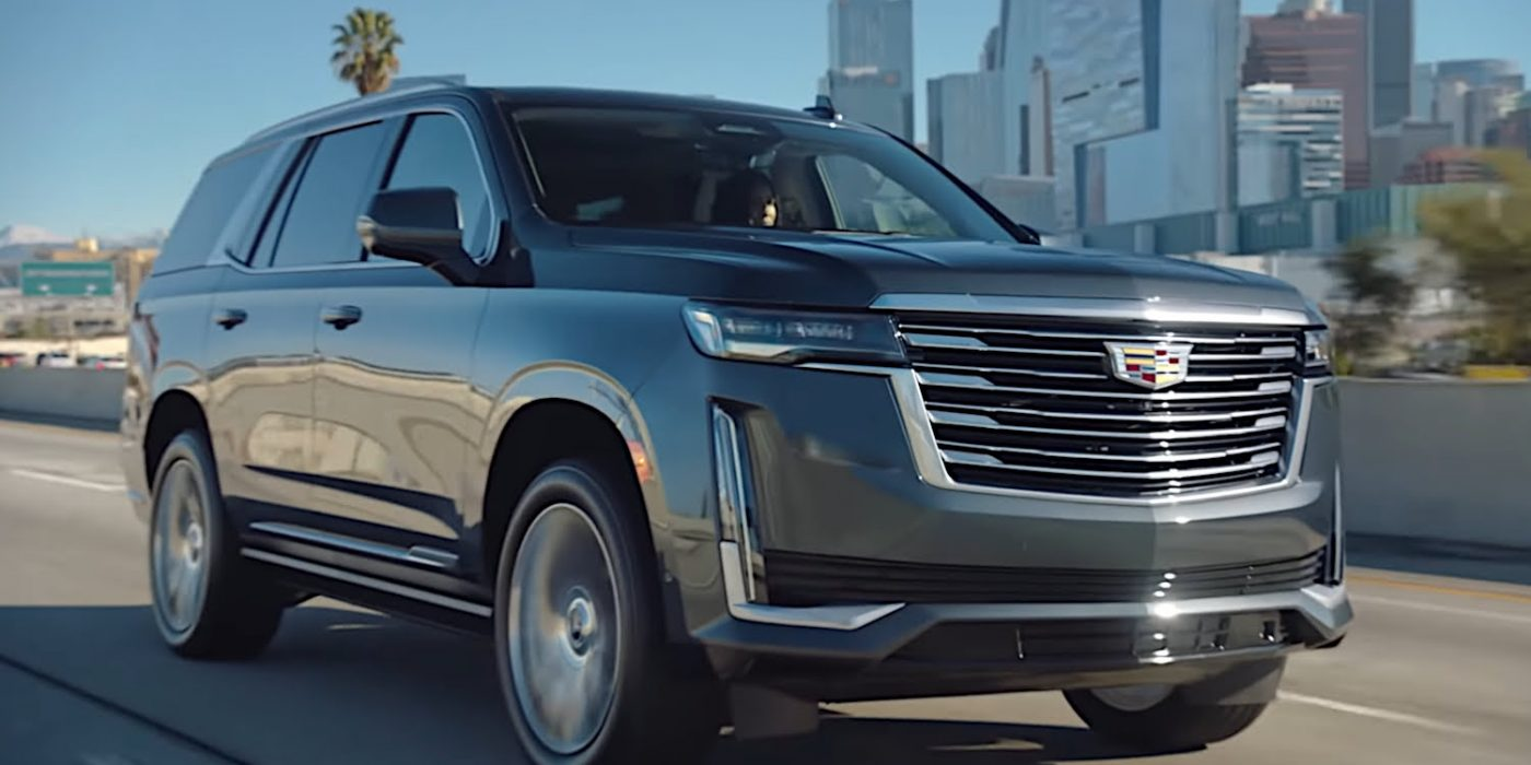 How To Quickly Turn On All The 2021 Escalade's Overhead Lights: Video