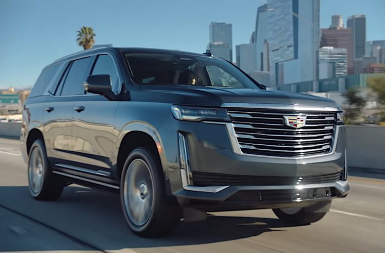 Celebrities Test Drive The Cadillac Escalade With Super Cruise: Video