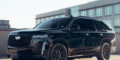 2021 Cadillac Escalade Looks Aggressive On Vossen HF6-4 Wheels