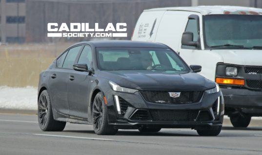 2022 Cadillac CT5-V Blackwing: First Real-World Photos