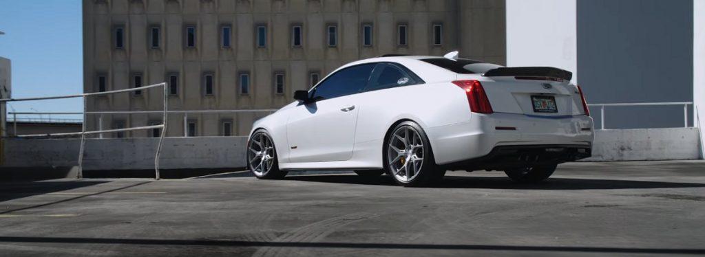 Cadillac ATS-V on Vossen wheels