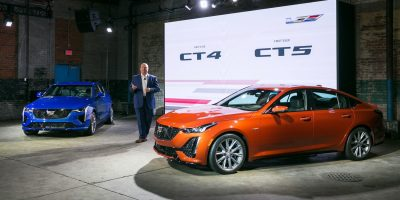 2020 Cadillac CT4, CT5 Recalled For Incorrect Emissions Control Label