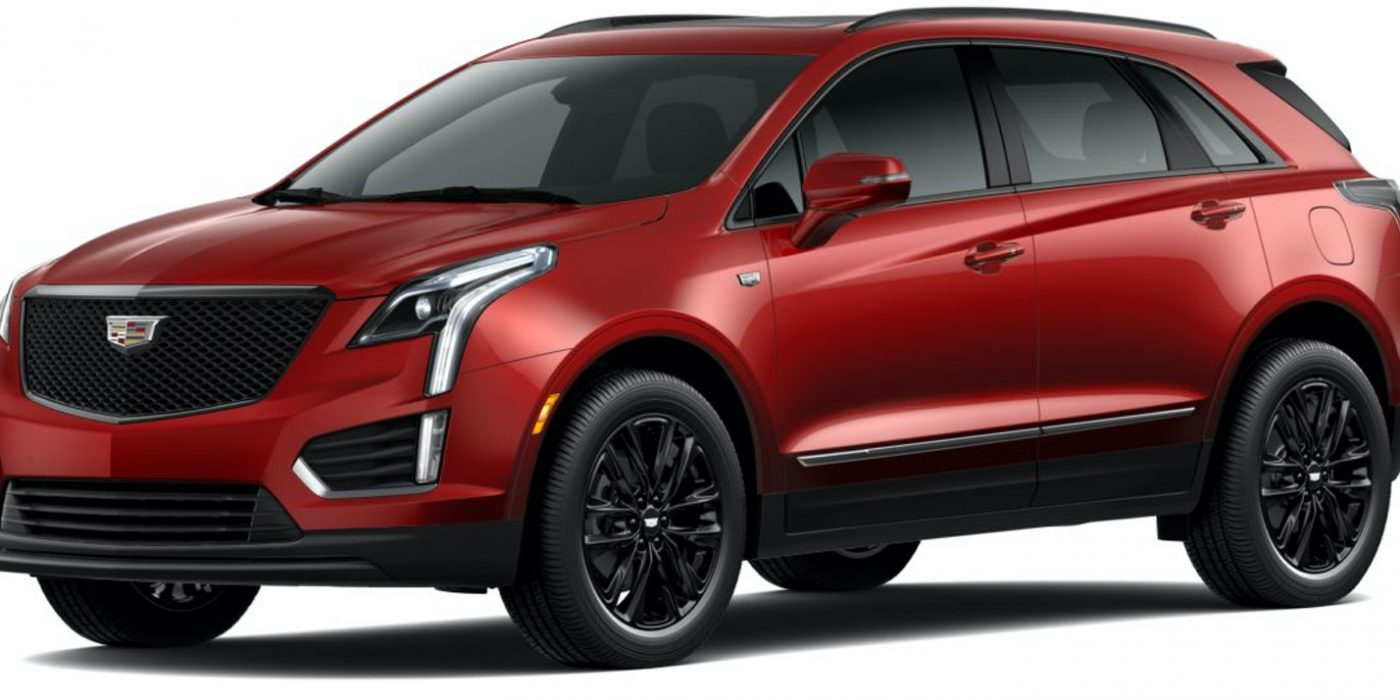 Here's The New Infrared Tintcoat Color For The 2021 Cadillac XT5