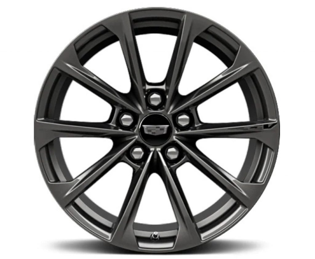 18-inch alloy with Satin Graphite finish