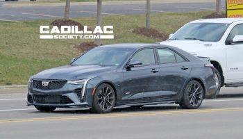2022 Cadillac CT4-V Blackwing: Live Photos